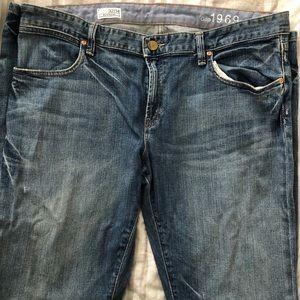 New 34/14 Gap boyfriend fit jeans.